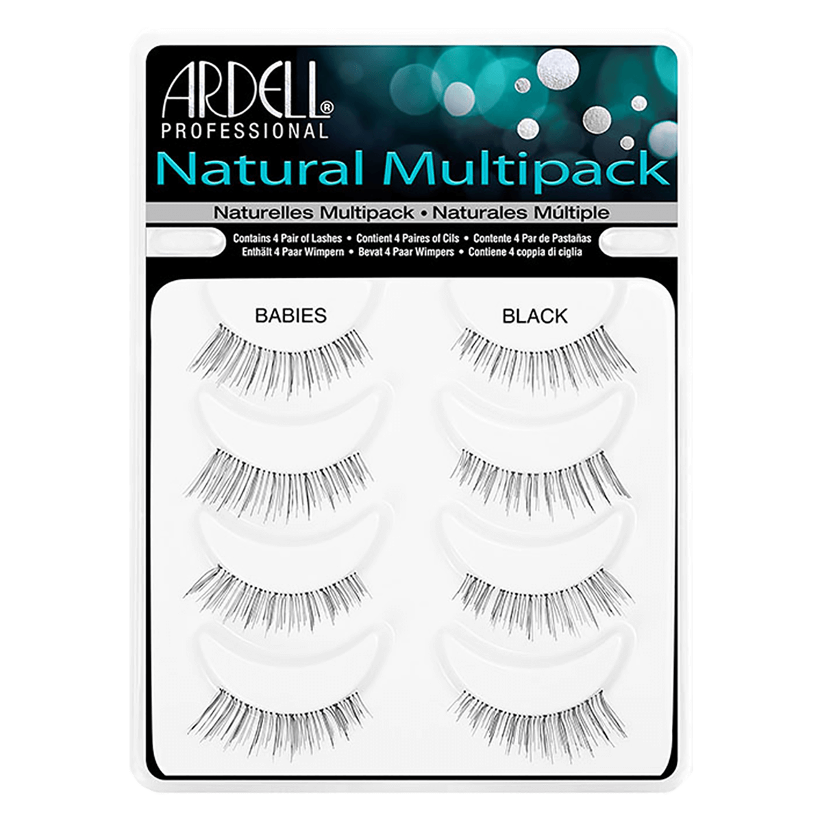 Ardell Natural Lashes Babies Black Multipack