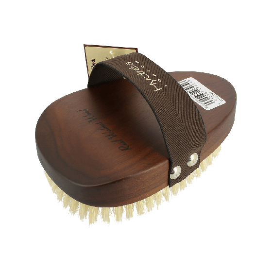 Hydrea Walnut Wood Dry Skin Brush