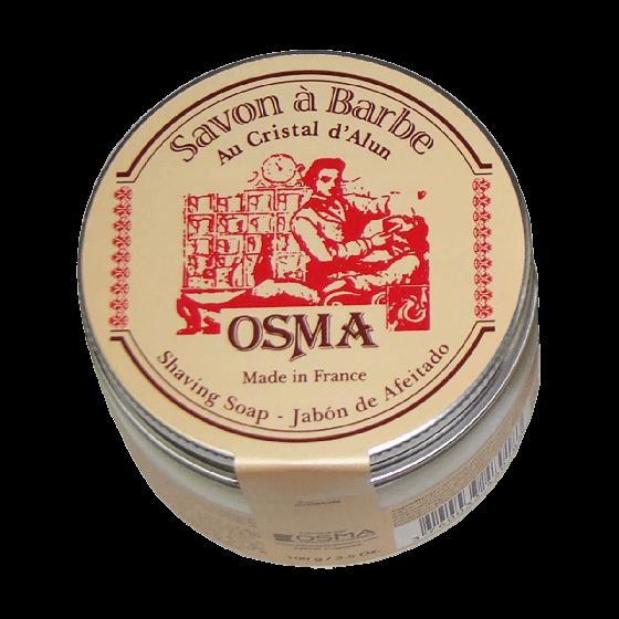 Osma Alum Shaving Soap 100g