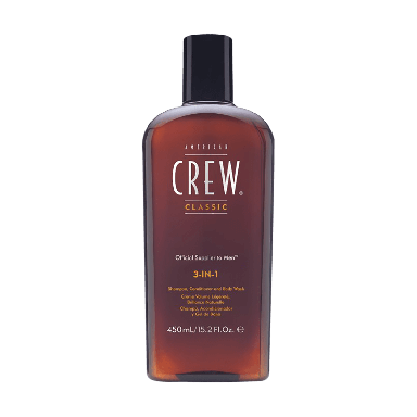 American Crew 3-in-1 Shampoo Conditioner and Body Wash 450ml