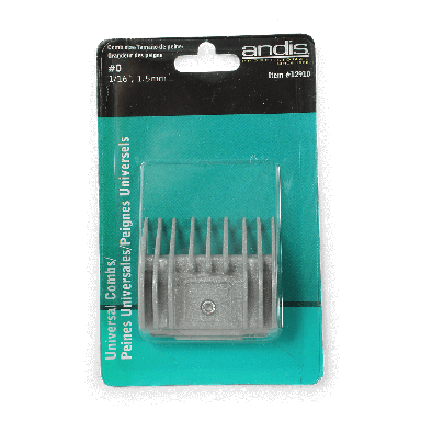 Andis Universal Comb Size 0 1.5mm, #12910
