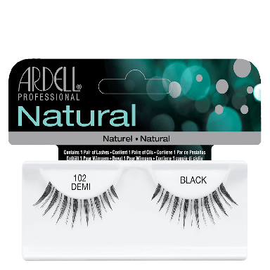 Ardell Natural Lashes 102 Demi Black