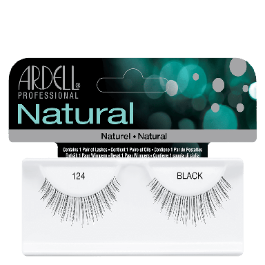 Ardell Natural Lashes 124 Black