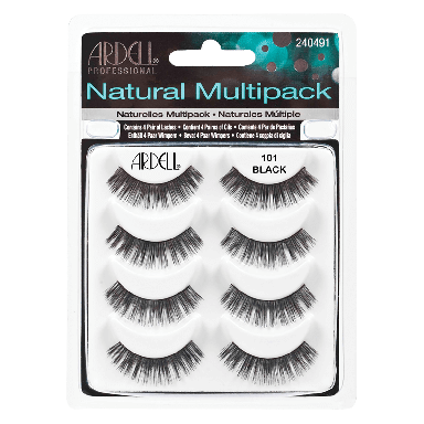 Ardell Natural Lashes 101 Black Multipack