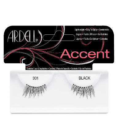 Ardell Accent Lashes 301 Black