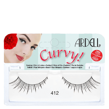 Ardell Curvy Lashes 412 Black