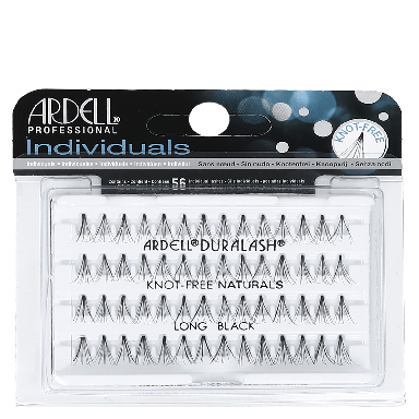 Ardell DuraLash Individuals Knot-Free Naturals Long Black