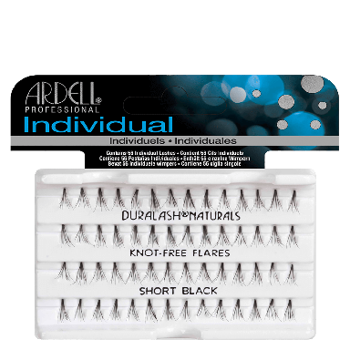 Ardell DuraLash Individuals Knot-Free Naturals Short Black
