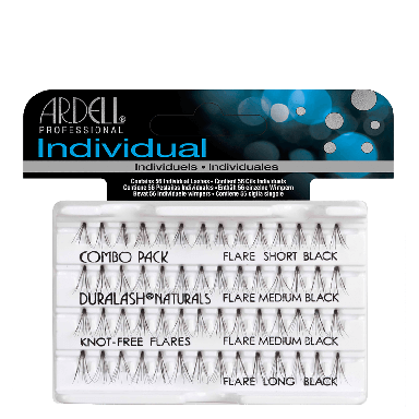 Ardell DuraLash Individuals Combo Pack Knot Free Naturals