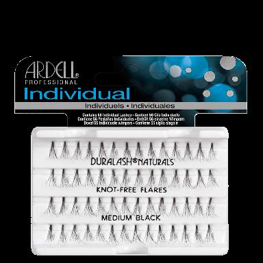 Ardell DuraLash Individuals Knot-Free Flares Medium Black