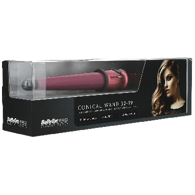 BaByliss Pro Ceramic Conical Wand Pink 32-19mm