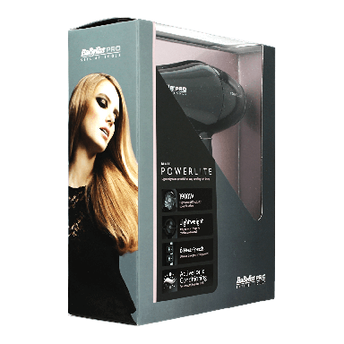 BaByliss Pro PowerLite Panther 1900w Black Dryer