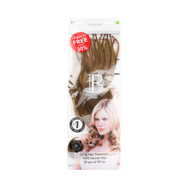 Balmain Paris Fill in Extensions 100% Human Hair 40cm 12.6