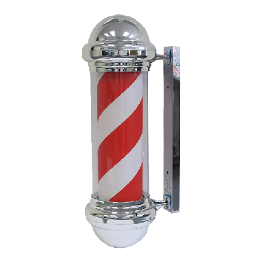 Barber Pole Red/white