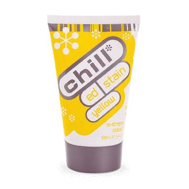 Chill Ed Stain Extreme Colour Yellow 100ml