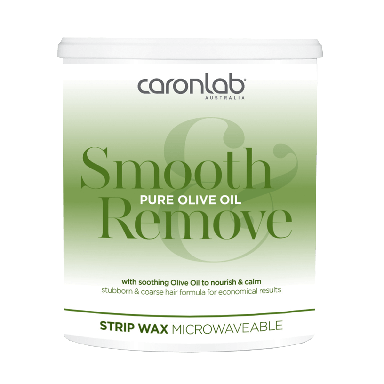 Caronlab Pure Olive Oil Strip Wax Microwaveable 800g
