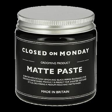 Closed On Monday Matte Paste 100ml