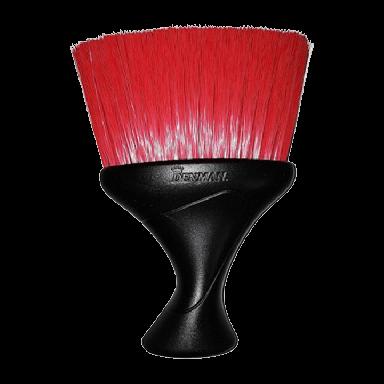 Denman D78 Black/Red Bristle Duster Brush