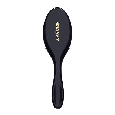 Denman D093M Tangle Tamer Gentle Brush Black