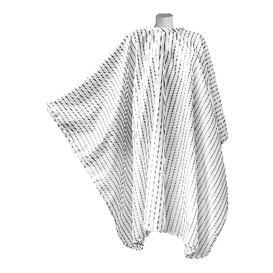 DMI Vintage Barber Cape - White