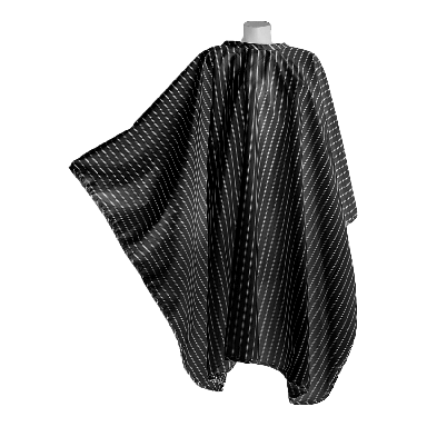 DMI Vintage Barber Cape - Black