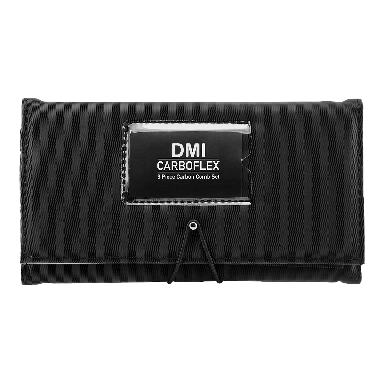 DMI Carboflex  9 Piece Carbon Comb Set - Black