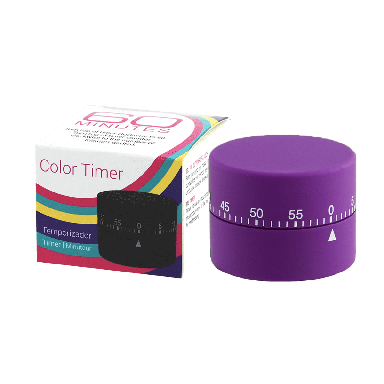 DMI Soft Touch Mechanical Timer - Purple