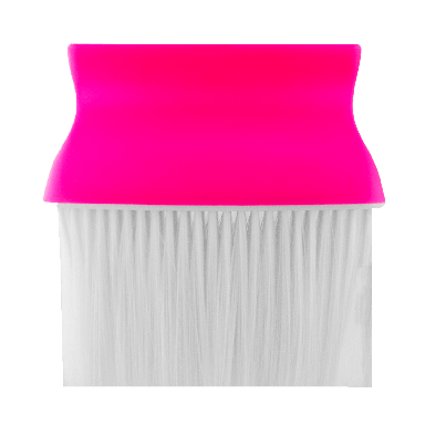 DMI Barber Style Neck Brush - Fuchsia