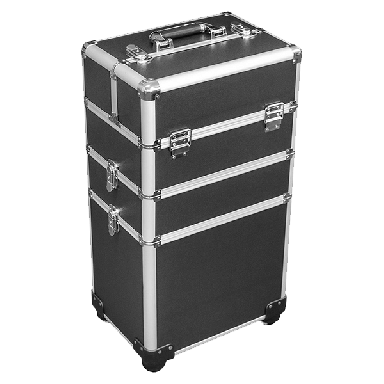 DMI 3-Tier Alu Case Black Matt