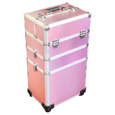 DMI 3-Tier Alu Case Pink Matt
