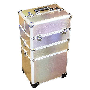 DMI 3-Tier Alu Case Rose Gold Matt