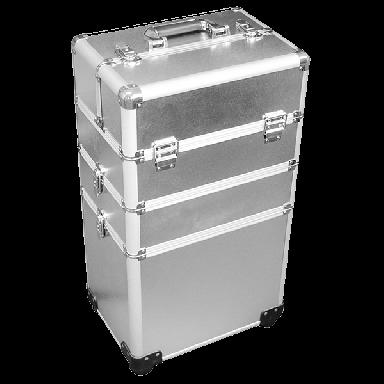 DMI 3-Tier Alu Case Silver Matt