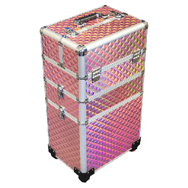 DMI 3-Tier Alu Case Pink Diamond