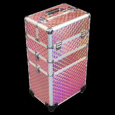 DMI 3-Tier Alu Case Pink Diamond