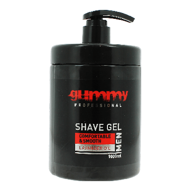 Gummy Lavender Shave Gel with Pump 1000ml