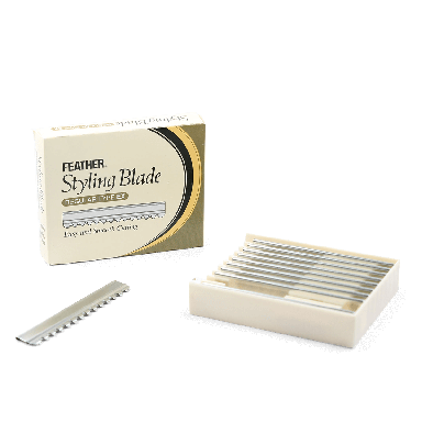 Feather Styling Blade Regular Type EX (10 Blades)