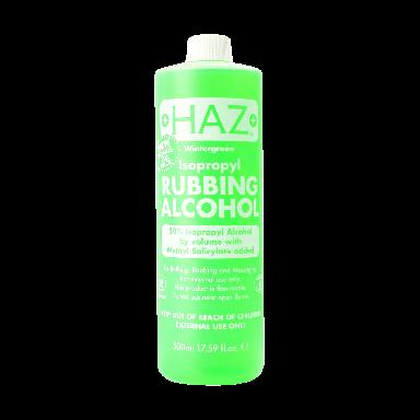 HAZ Wintergreen Isopropyl Rubbing Alcohol 50% 500ml