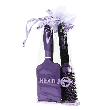 Hairtools Headjog Purple Brush Set