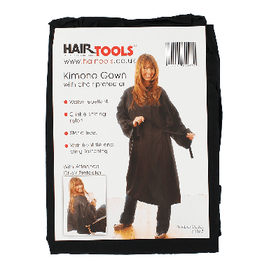 Hairtools Kimono Gown With Chair Protector