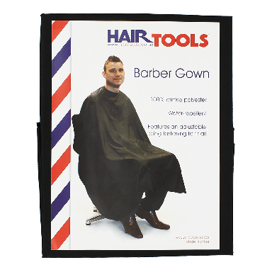 Hairtools Barber Gown Black