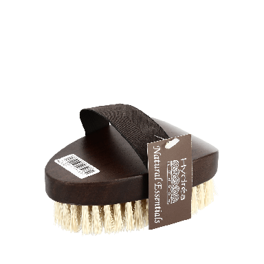 Hydrea Professional Walnut Wood Bath Brush Cactus Bristle