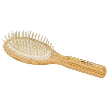Hydrea Olive Wood Hair Brush With Olive Wood Pins