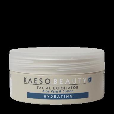 Kaeso Beauty Hydrating Facial Exfoliator Aloe Vera & Cotton 245ml