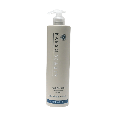 Kaeso Beauty Hydrating Cleanser Aloe Vera & Cotton 495ml