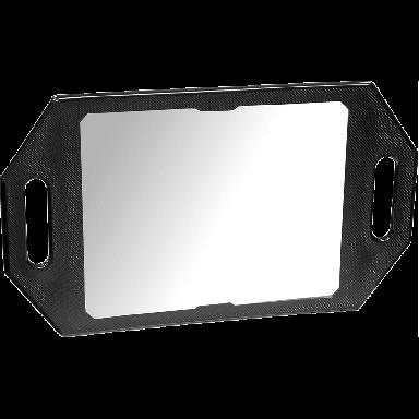Kodo Two-Handed Back Mirror - Black