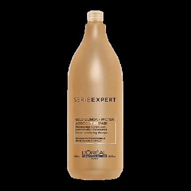 L'Oreal Professional Serie Expert Absolut Repair Gold Resurfacing Shampoo 1500ml