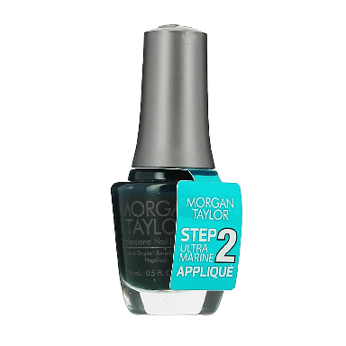 Morgan Taylor Ultra Marine Applique Nail Lacquer 15ml