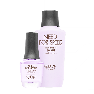 Morgan Taylor Need for Speed Fast Dry Nail Top Coat Profressional Kit