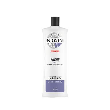 Nioxin System 5 Cleanser Shampoo for Chemically Treated Hair 1000ml