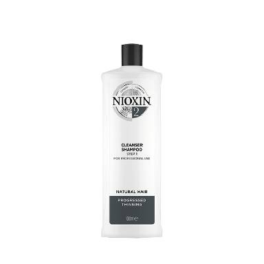 Nioxin System 2 Cleanser Shampoo for Natural Hair 1000ml